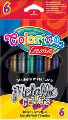 Фломастерыs с метталическим эффектом Coloring creative