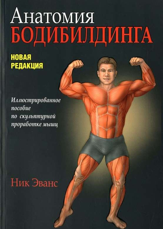 Анатомия бодибилдинга. Иллюстрированное пособие по скульптурной проработке мышц