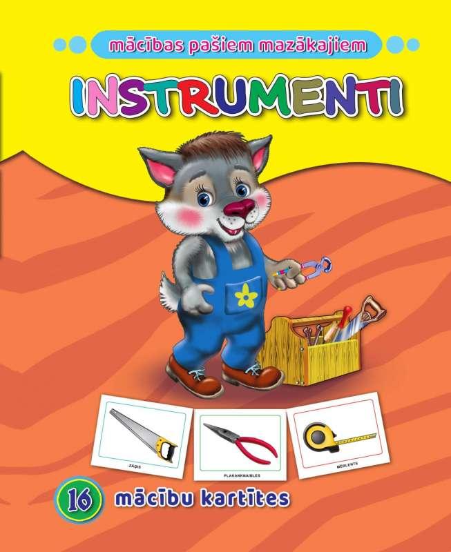 Instrumenti. 16 apmācības kartiņas