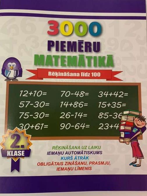 Burtnīca 3000 piemēru matemātikā