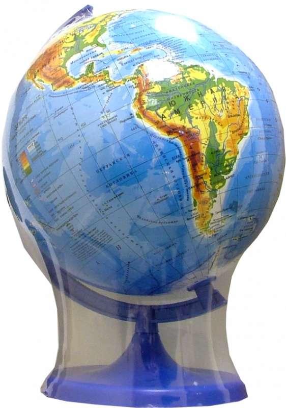 Глобус физико-географический d 220мм