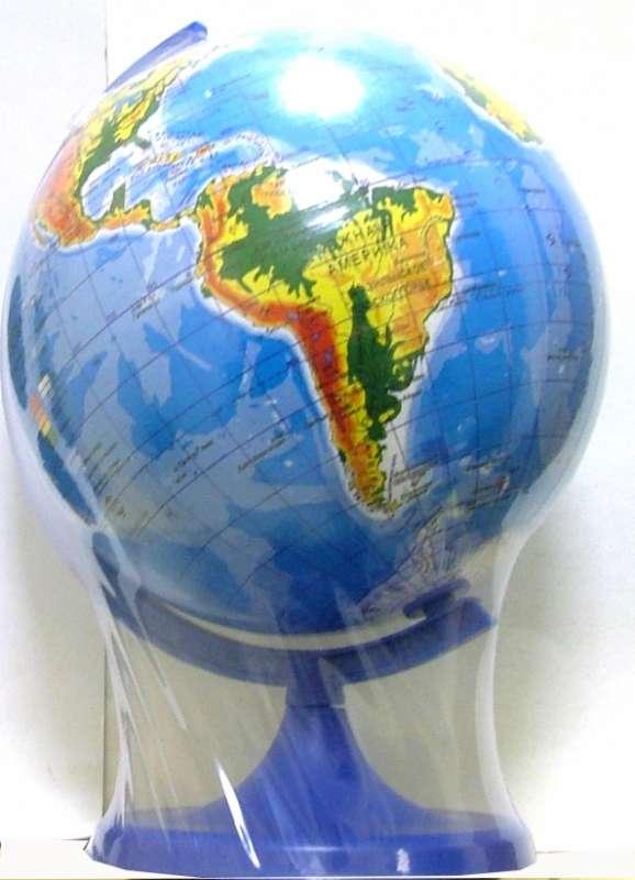 Глобус физико-географический d 160мм
