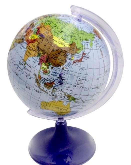 Глобус политический d=110 мм