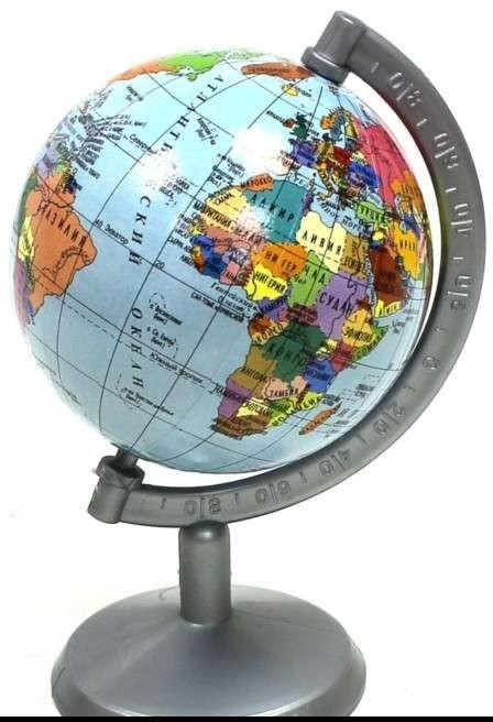 Глобус политический d 70мм