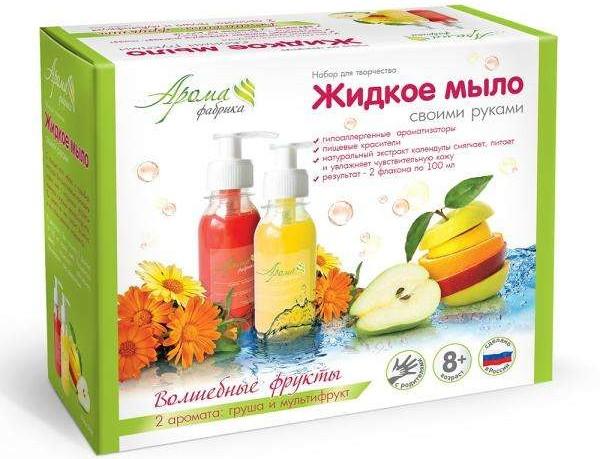 Жидкое мыло своими руками Волшебные фрукты