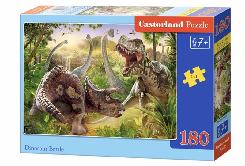 Пазл 180. Динозавры