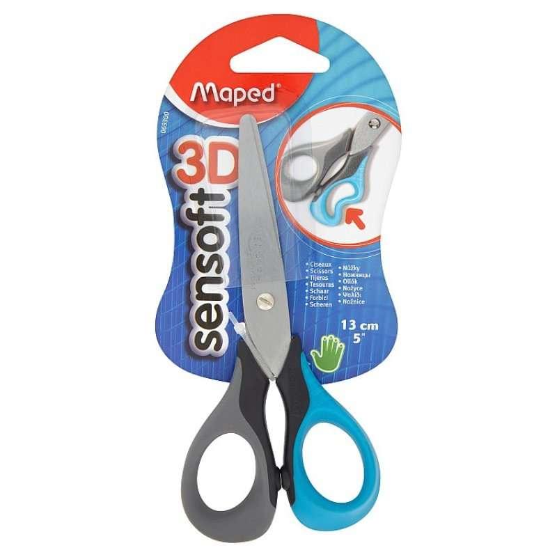 Ножницы MAPED Sensoft 3D 13cm