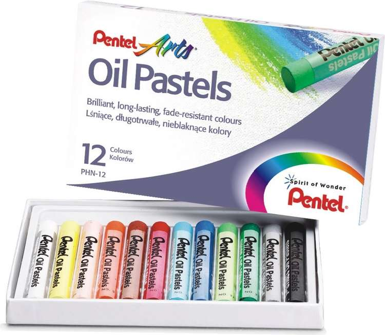 Пастель масляная Pentel