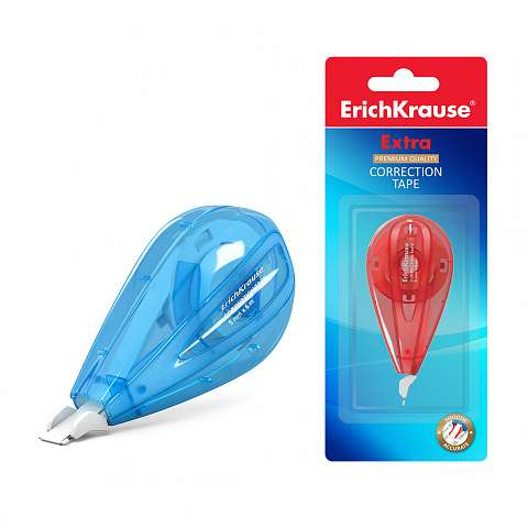 Корректирующая лента ErichKrause Extra, 5мм х 6м (в блистере по 1 шт.)