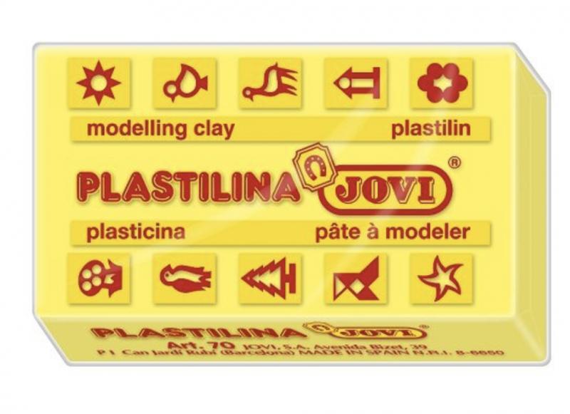 Jovi Пластилин, цвет: желтый,  50 г