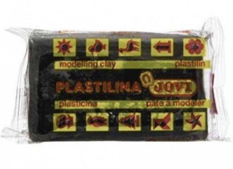 Пластилин (50 гр., черный)