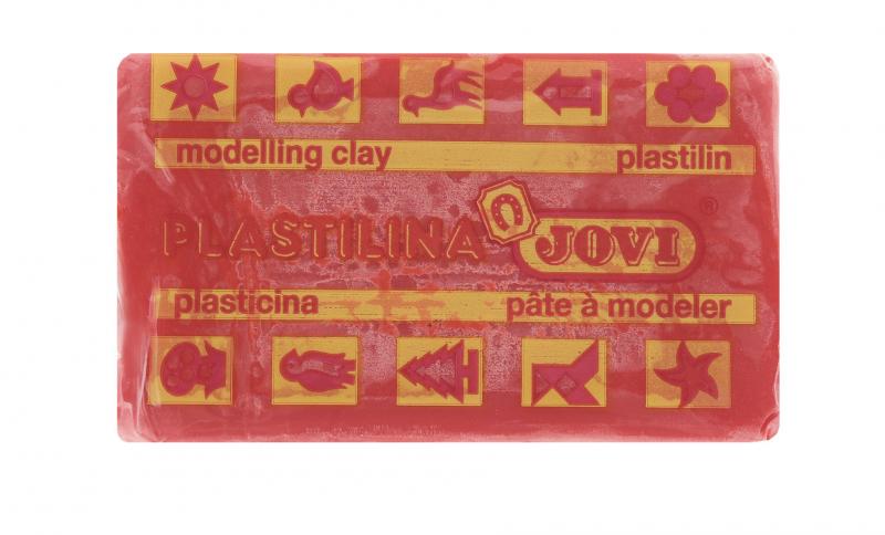 Jovi Пластилин, цвет: красный, 50 г