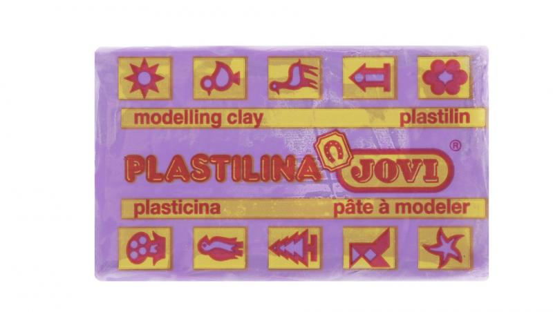 Jovi Пластилин, цвет: фиолетовый, 50 г