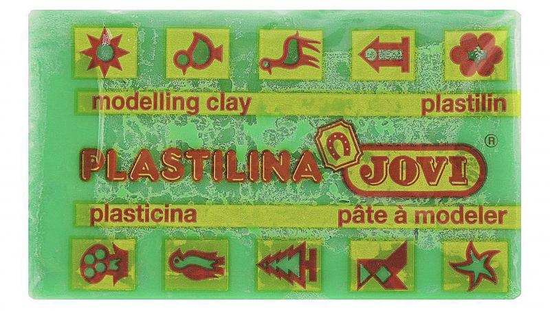 Jovi Пластилин, цвет: светло-зеленый, 50 г