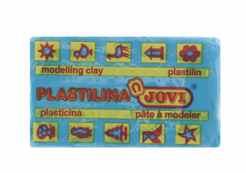 Пластилин JOVI Basic 50гр. светло синий