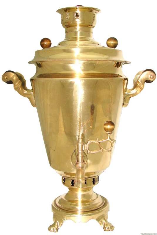 Самовар жаровой с трубой. 7 литров