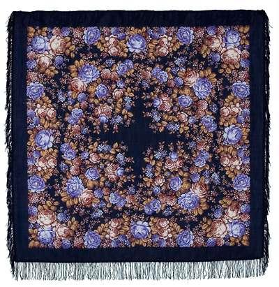 Платок - Цветочная сказка, 146x146 см