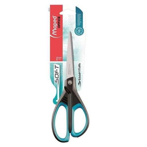 Ножницы MAPED Essentials Soft 21 cm