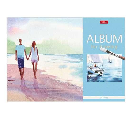 Альбом для рисования 24л А4-Рисуем