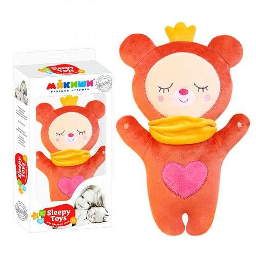 Mīksta rotaļlieta- Sleepy Toys Lācis