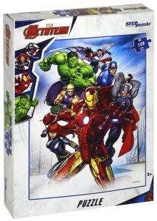 Мозаика,пазл,120 элементов- Marvel-2