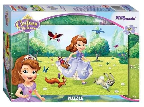 Мозаика,пазл ,104 элемента -Принцесса София