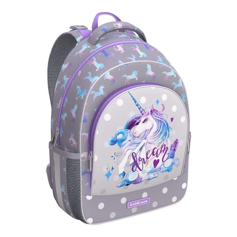 Ученический рюкзак ErichKrause ErgoLine 15L Dream Unicorn