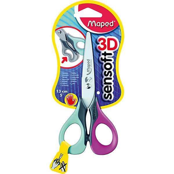 Ножницы MAPED Sensoft 3D 13cm для левшей