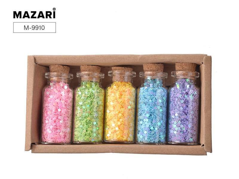 Набор конфетти декор. №4, 5 цв. x 6г