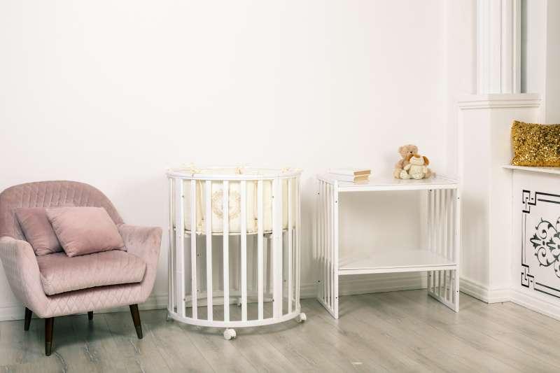 Bērnu gulta MIMI 7 in 1, balta krāsa
