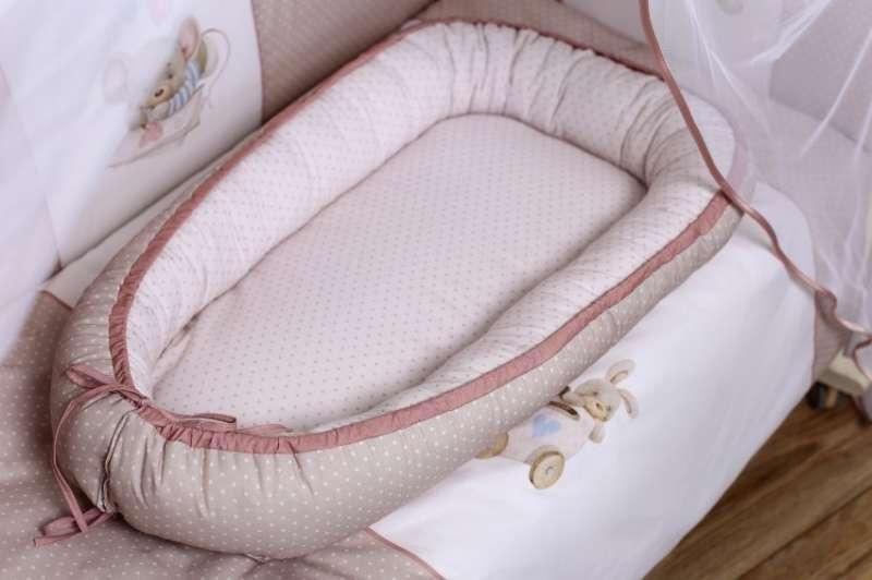 Подушка-гнездышко Little mouse