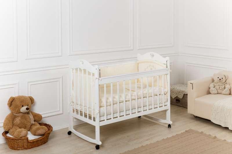 Bērnu gulta Sofi, balta krāsa