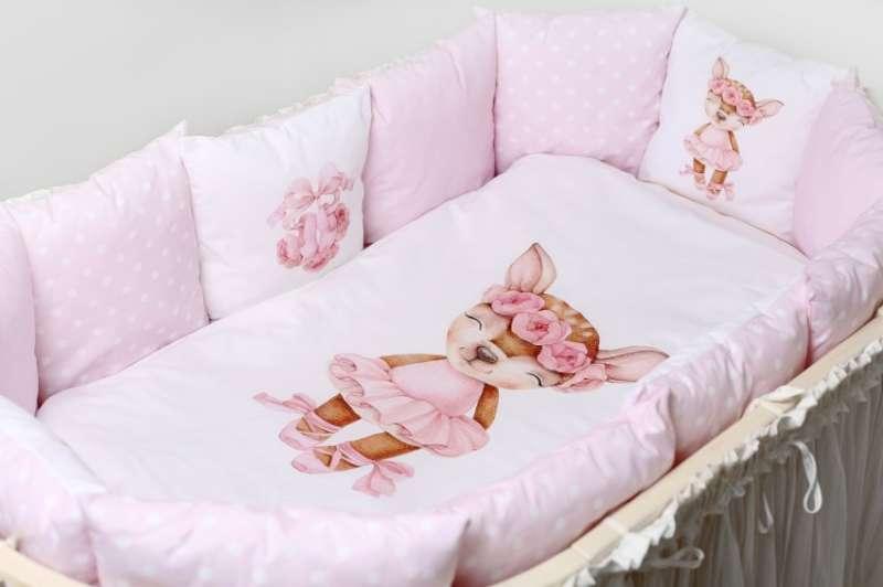 Комплект постельного белья, 6 предметов Балерина розовый