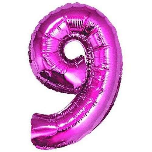 Фольгированный шар 92см розовый