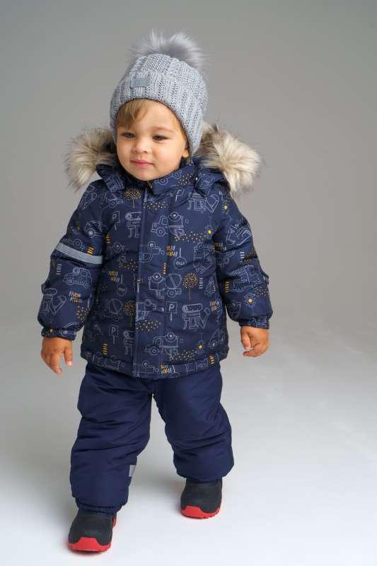 Зимний комплект для мальчика (размер 86)
