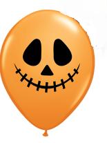 Шар 11 Jack Face оранжевый