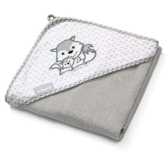 Babyono Бамбуковое полотенце с капюшоном 100×100см