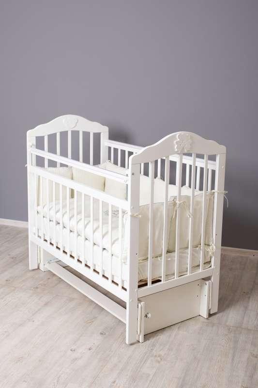 Кровать «Pali», цвет белый