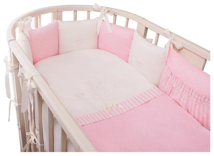 Комплект 7 предметов Неженка Oval розовый