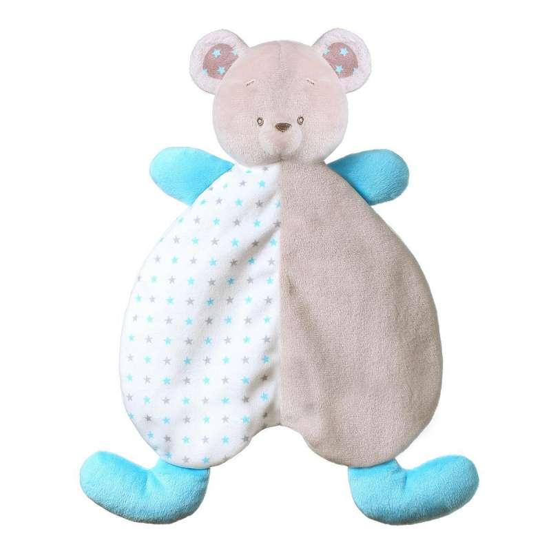 Babyono BEAR TONY Игрушка-обнимашка — одеяльце