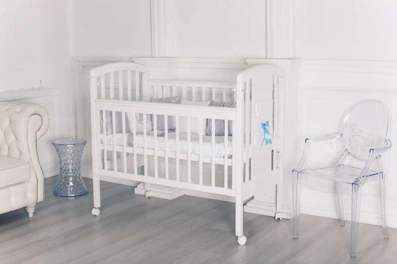 Bērnu gulta Hugge , balta krāsa