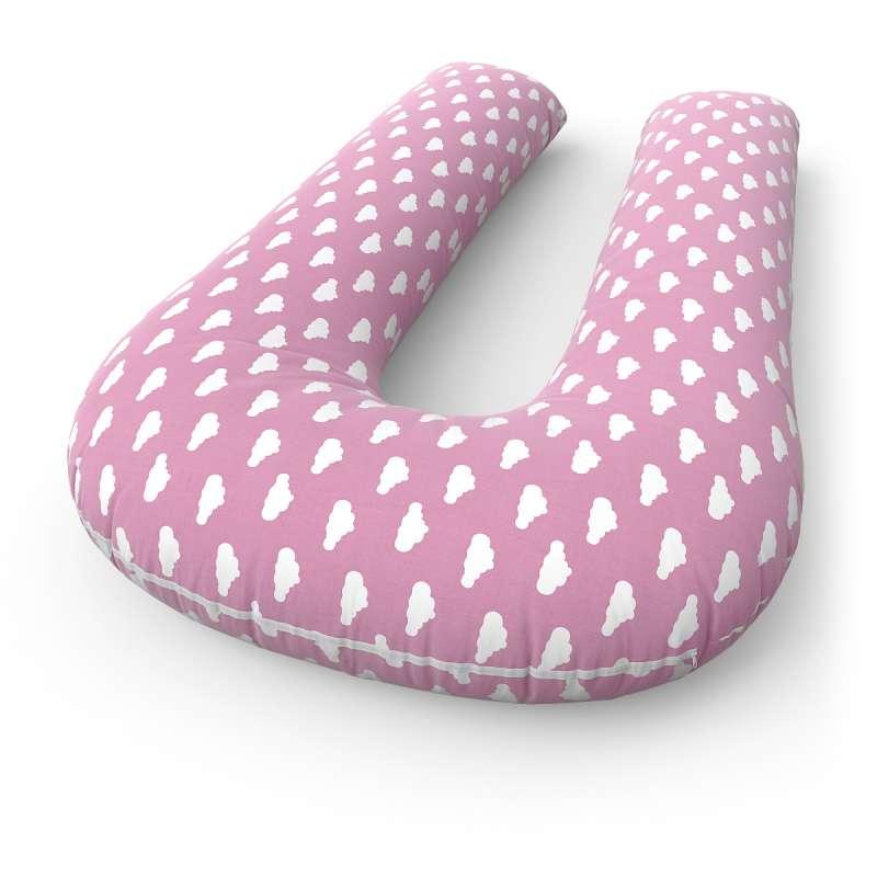 Подушка для беременных U + наволочка Clouds Pink