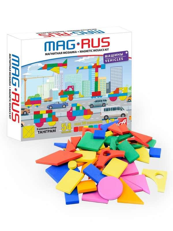 Магнитная мозаика - Транспорт ( 54 элемента)