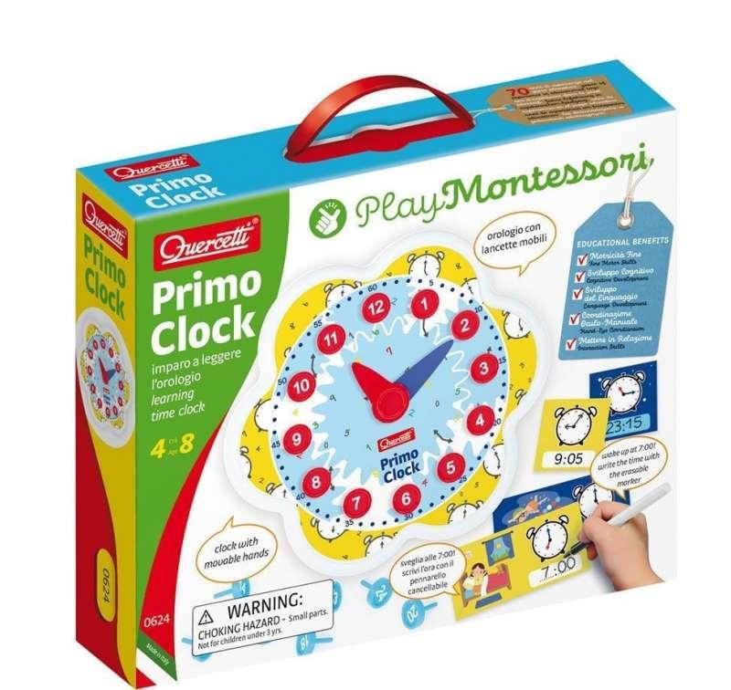 Первые часы Montessori Quercetti