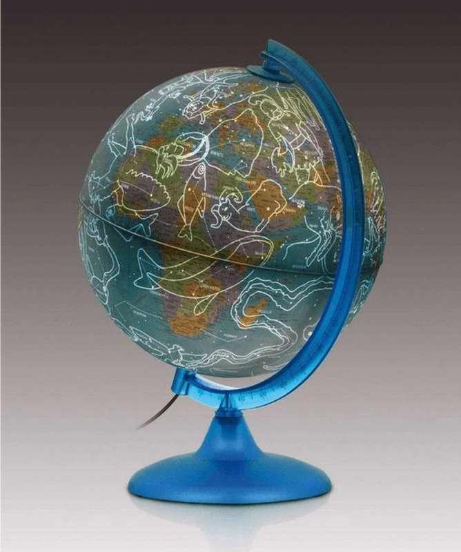 Глобус NIGHT & DAY 25 см, с подсветкой