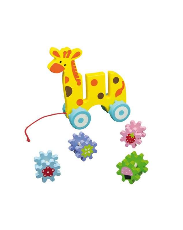 Деревянная игрушка Жираф ANDREU