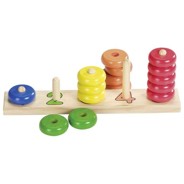 Развивающая игрушка GOKI - Учимся считать до 5, 16 частей