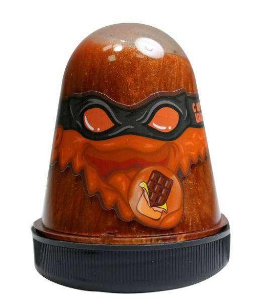 Slime Ninja ar šokolādes aromātu 130 g. baidās no aukstuma
