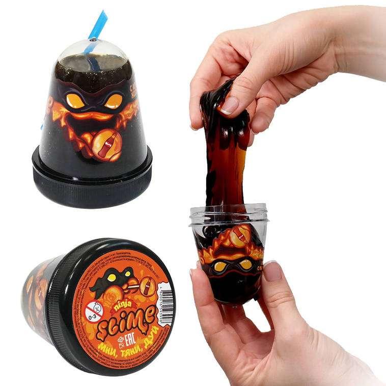 Slime Ninja ar kolas garšu, 130 g. baidās no aukstuma