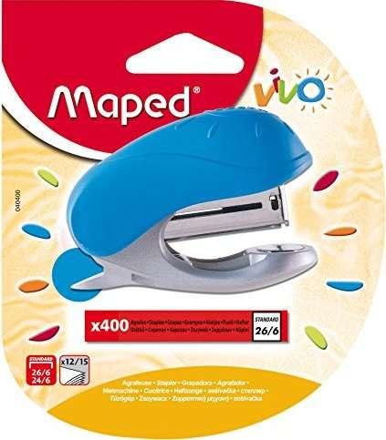 Степлер MAPED Vivo N10, 15 листов, блистер + скобы